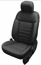NEW Ford Ranger Crew Cab XLT Black Katzkin Leather Seat Replacement Covers