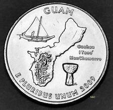 2009  P MINT, Guam Quarter Uncirculated Clad - DC & Territorial