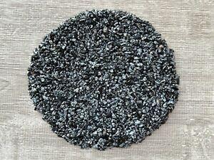 Grade A++ Snowflake Obsidian Semi Tumbled Gemstone Mini Chips 4 - 8 mm, Bulk Lot