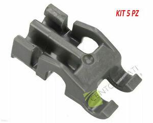 Kit 5PZ Cuscinetti grigio supporto cestello lavastoviglie 481010600198 Whirlpool