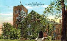 Anniston,Alabama,St.Michael's & All  Angel's Episcopal Church,Calhoun Co.c.1909