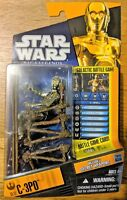 Star Wars Saga Legends C-3PO SL17 Galactic Battle Game figure from HASBRO