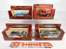 CA570-1# 4x Matchbox Oldtimer: Y-2 + Y-3 Ford + Y-14 1935 ERA R1B, NEUW+OVP