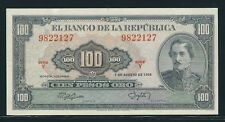 COLOMBIA BANKNOTES  $100 1958