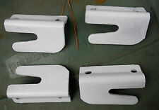 Set 4 Button bed hooks, repair iron bed broken hitches w/ these hooks,no welding