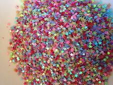10g Mixed Tiny 3mm Star Sequins Lovely Colour Cardmaking Decoration