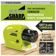new Electric Knife Sharpener kitchen Knives Blades Screw Drivers Swifty Sharp To