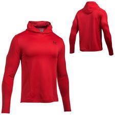 Felpa da uomo rossi per palestra, fitness, corsa e yoga