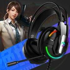 Gaming Headphone Headset Stereo Earphones With Microphone For PC Mobile Phone