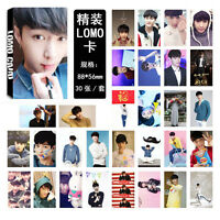 NEW 30pcs set Kpop EXO LAY Personal Photo Picture Poster Lomo Card