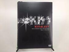 Kissology The Ultimate Kiss Collection Volume 1 1974-1977 2 DVD Box Set VG