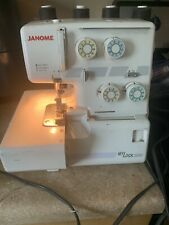 Janome My Lock 204D Serger Used Working.