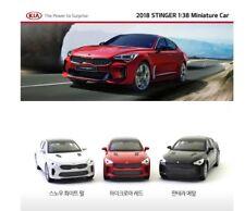 Brand NEW 2018 KIA Miniature Car Stinger 1:38 Scale for Childrens