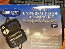 GUNMASTER  Gun Cleaning Kit  22 Piece Pistol Gun Cleaning Kit
