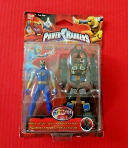 Power rangers Action Figure Ninja storm zord armour ranger 2003 rare in Box