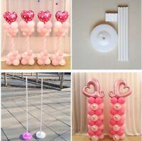 4Pcs/set Balloon Column Base Bottom Rack Stand Clip Wedding Party Supplies