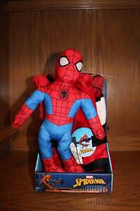 Marvel Spiderman Character Pillow and Throw Blanket Set New