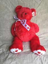 Ty Punkies Big Siren Teddy Bear 24'' Valentine Bear Love Bear reT 2006 Mint Tags
