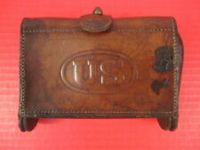 Spanish Am War US Army Leather McKeever Cartridge Box RIA 1909 .30-40 Krag