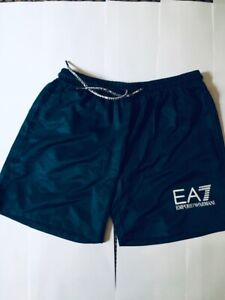 MEN EMPORIO ARMANI EA7  100% Polyester Beach Swim Shorts Uk.