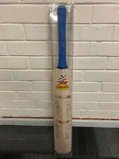 B & H First World Championship of Cricket 1985 Bat Signatures of all the Players