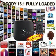 XGODY Latest 16.1 TX1 Smart Android TV BOX S805 Quad Core Media Set box 1080P HD