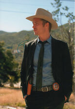 Timothy Olyphant Autograph Signed 20x30 Inch Photo
