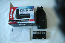 OPTEKA Platinum Series Professional Battery Grip BGD80 for NIKON D80 Boxed