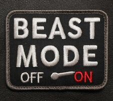BEAST MODE ON ARMY USA COMBAT BADGE SWAT VELCRO® BRAND FASTENER PATCH
