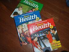 Teen Health Course 1,2 and 3  -  Teacher Edition - Glencoe McGraw-Hill