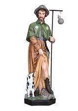 Saint Roch resin statue cm. 80
