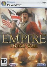 Empire Total War Strategy Game PC Brand New Sealed