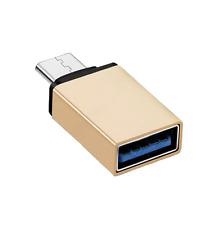 USB C Macho a Hembra Adaptador Convertidor De Usb A Sincronización de Datos y Carga Tipo C