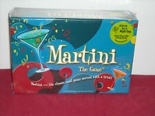 Martini The Classic Card Game Served with a Twist NEW UNOPENED
