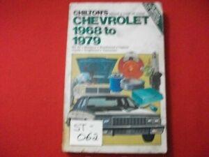 1968-79 CHEVROLET BEL AIR, BISCAYNE, CAPRICE, IMPALA MORE REPAIR & TUNE-UP GUIDE