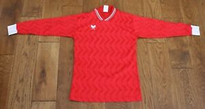 VINTAGE ERIMA FOOTBALL SHIRT FROM THE LATE 70'S EARLY 80'S  SMALL