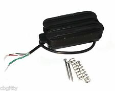 "1pc. ""Dual Rail"" Black Humbucker Pickup - as featured on GuitarWorld.com!"