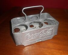 Coca Cola 1950s Aluminum 6-Bottle Carrier Carton
