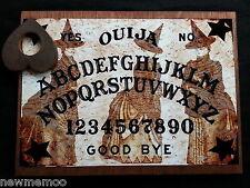 Wooden Ouija Board & Planchette weeja fortune telling Bizarre Three Blythe Witch
