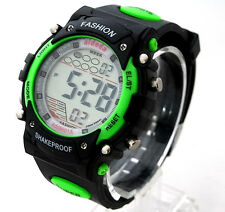 Men Boys Digital Watches Running Sports Alarm Watchlight Stopwatch WR 30m Sydney