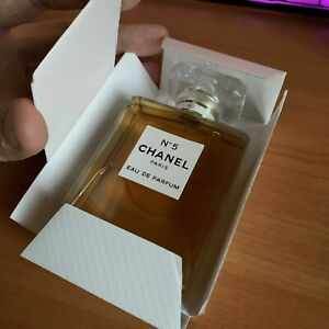 Chanel No. 5 БЕЛАЯ Eau de Parfum EDP 3.4 fl.oz / 100 ml, Women, France, Spray!