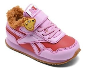 Reebok CL Jogger 3.0 1V Peppa Pig TD Girls' Infant-Toddler Sneaker MULT SIZES