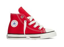 CONVERSE CT ALL STAR HIGH - VARIOUS COLOURS -INFANT SIZES UK 3-UK 10 - BRAND NEW