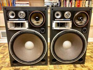 """300 WATT MONSTERS: Kenwood KL-999X or KL-9090X Speakers 16"""" Woofers 5 Way"""