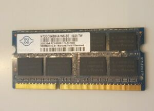 NANYA 2GB 2Rx8 PC3-8500S DDR3 Laptop Memory RAM NT2GC64B8HA1NS-BE