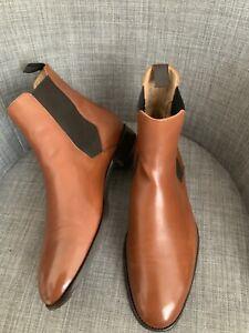 Shoepassion Chelsea Boots - No. 662 -  44 UK 9 US 10 Leder Braun Stiefel