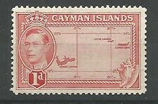 Territory George VI (1936-1952) Caymanian Stamps
