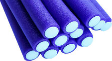 Bendy Flexible Foam Rollers Large Violet 12pk