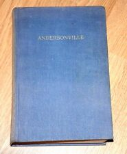 Andersonville 1955 4th Printing before publication, Mckinley Kantor Civil War