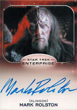 Star Trek Aliens Autograph Card Enterprise Mark Rolston as Captain Magh